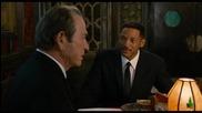 Част от филма Мъже В Черно 3