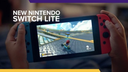 Say hello to the Nintendo Switch Lite!