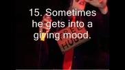 20 Reasons Why To Love Gerard Way