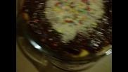Вкусна торта с бишкоти