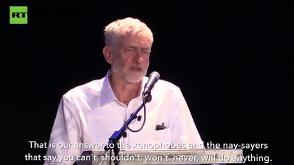 Jeremy Corbyn Calls for an End to 'Series of Catastrophic Wars'