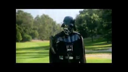 Darth Vader играе голф !!!