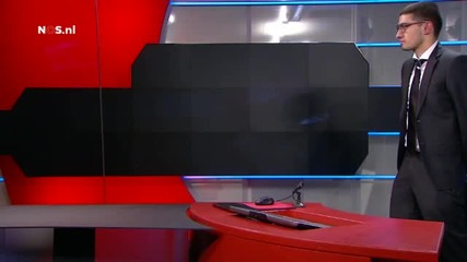 Въоръжен мъж нахлу в Холандска телевизия
