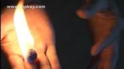 Как се прави магическо горящо топче (което не пари)