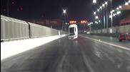 Lexus Isf излита от пистата като самолет заради високата скорост