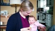 Бебе харесва звука на чипса