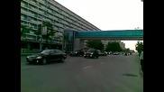 Кортежа на чеченския президент Рамзан Кадиров - част 1