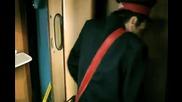 Зрителна измама на влакови релси