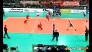 C E V Cup // Ц С К А - Закса Кендженджин - Кожле 3 - 0