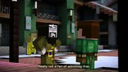 Minecraft Story Mode Епизод 8 Не е зле за човек който никога до сега не е играл Hungar Games Вария 1