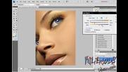 Разкрасяване на жена с Photoshop