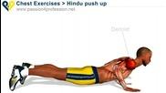 Ефектно упражнение за супер гърди и трицепс