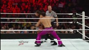 Adam Rose & Summer Rae vs. Fandango & Layla: Raw, June 16, 2014