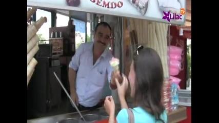 Продавач на сладолед в Истанбул