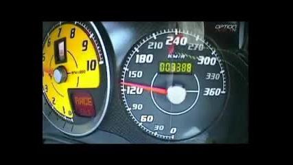 340 kmh Ferrari 430 Scuderia Novitecrosso