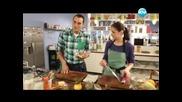 Обърнат портокалов кейк, супа от чедър и бира, патешко магре на тиган - Бон Апети(08.02.2013)