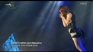 26/06 Ailee - Uskudara gider iken - Music Bank in Istanbul 070913
