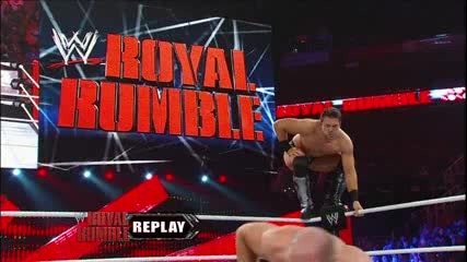 The Miz vs Antonio Cesaro - Wwe Royal Rumble 2013 in Pre - Show