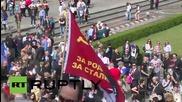 Germany: 10,000 pay respects at Berlin's Treptower Soviet War Memorial