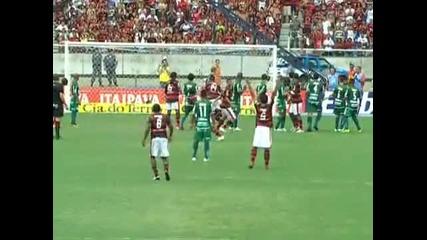 Gol de Ronaldinho Flamengo 1x0 Boavista - Final Ta