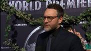 Jurassic Park Director Colin Trevorrow At Premiere