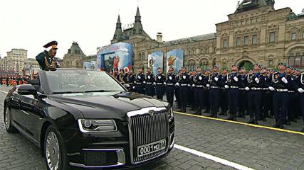 Русия: Започна парадът на победата в Москва - Денят на победата
