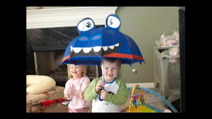 Чадърчета - детска песничка