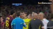 """Видео: Пожарът """"ел Класико"""", Моуриньо бръкна в окото на съперник"""