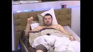 Big Brother 2012 - Нед си разплита чорапите