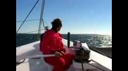 Formula windsurfing Vs trimaran