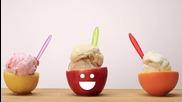 Купички за сладолед от плодове