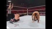 Wwe Raw The Miz Vs Evan Bourne
