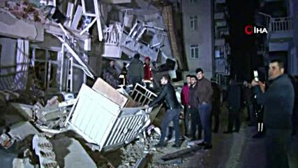 Силно земетресение в Турция, има загинали