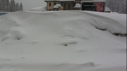 Сняг февруари месец - Родопите