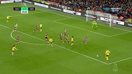 Шефийлд Юнайтед - Арсенал 1:0 /първо полувреме/