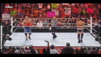 Връщат тениската на Джон Сина (2 пъти :d) - Raw 8/22/11