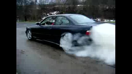 E36 318is Burnout