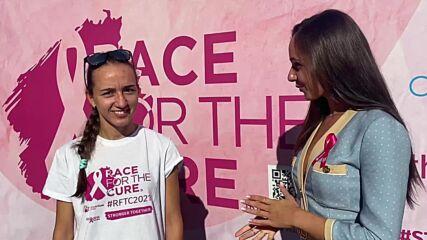 Еконт - Най-голям отбор на Race for the Cure Bulgaria 2021