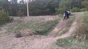 Cutest ride ever! 3 y/o does BMX like a pro