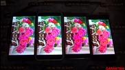 Сравнение дисплеев Meizu Mx4, Meizu M1 Note, Jiayu S3, Umi Zero