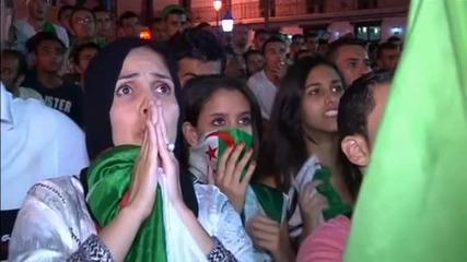 В Алжир: Гордеем се с отбора