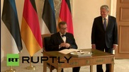 Germany: Estonian and German presidents meet in Berlin