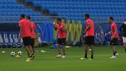 Russia: Costa Rica squad hold final training before Serbia game
