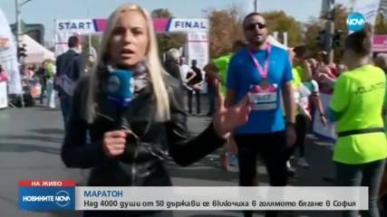 Кениец спечели маратона на София с нов рекорд, българи доминираха в бягането на 10.5 км