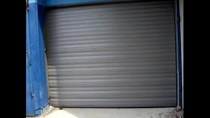 Бърза ролетна врата с изолация