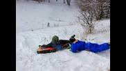 Скоростно спускане по баирите на Плана планина