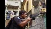 Ликвидиране на наркотрафикант в Рио де Жанейро...