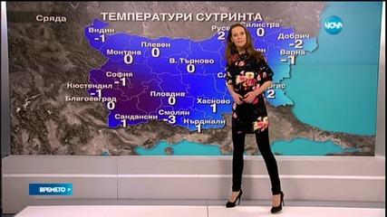 Прогноза за времето (04.02.2015 - сутрешна)