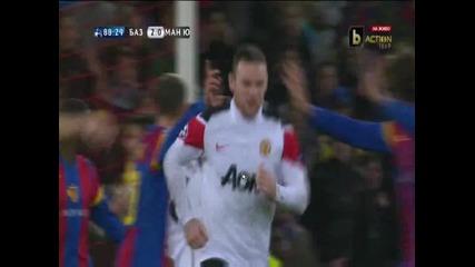 Базел - Манчестър Юнайтед гол за Манчестър Юнайтед