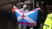 UK: Scottish independence activists march through Glasgow